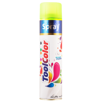TINTA SPRAY 400ML TOOLCOLOR LUMINOSA VERDE